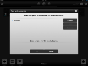 iOS XBMC Browse Source