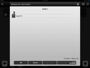iOS XBMC UPnP Device