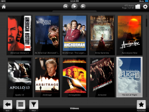 iOS XBMC Shared Media Library