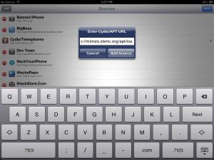 iOS Cydia Add Source