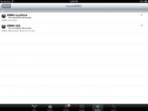 iOS Cydia XBMC App