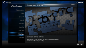 AppleTV XBMC Services