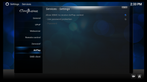AppleTV XBMC AirPlay