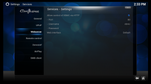 AppleTV XBMC Webserver